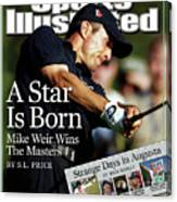 Mike Weir, 2003 Masters Sports Illustrated Cover Canvas Print