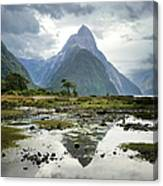 Milford Sound, South Island, New Zealand Canvas Print