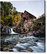 Mill On Crystal River Canvas Print