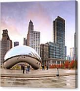 Millennium Park, Chicago, Illinois,usa Canvas Print