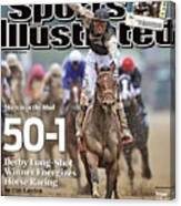 Mine That Bird, 2009 Kentucky Derby Sports Illustrated Cover Canvas Print