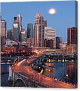 Minneapolis, Minnesota Skyline Canvas Print