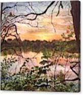 Minneapolis Sun Canvas Print