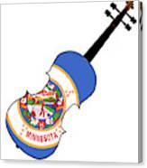 Minnesota State Fiddle Canvas Print