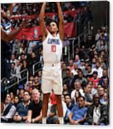 Minnesota Timberwolves V La Clippers Canvas Print