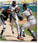Minnesota Twins V Chicago White Sox Canvas Print