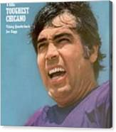 Minnesota Vikings Qb Joe Kapp Sports Illustrated Cover Canvas Print