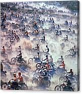 Mint 400 Motocross Race Canvas Print