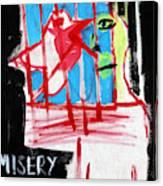 Misery Loves Company Canvas Print