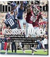 Mississippi Mayhem The Weekend The College Football Sports Illustrated Cover Canvas Print