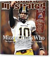Missouri University Qb Chase Daniel Canvas Print