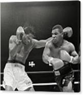 Mitch Green Recoils From Mike Tysons Canvas Print