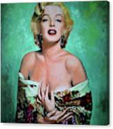M.Monroe 4 Canvas Print