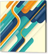 Modern Abstract Illustration In Color Canvas Print