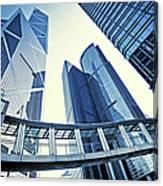 Modern Office Buildings Canvas Print