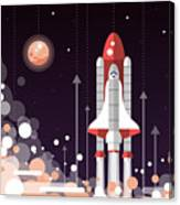 Modern Vectorflat Design Illustration Canvas Print