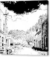 Mogollon New Mexico Ghost Town Canvas Print