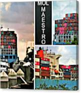 Mol Maestro Collage Canvas Print