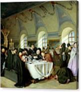Monastic Refectory Canvas Print