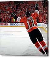 Montreal Canadiens V Philadelphia Canvas Print
