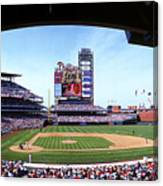 Montreal Expos V Philadelphia Phillies Canvas Print