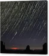 Monumental Star Trails Canvas Print