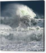 Moody Ocean Canvas Print