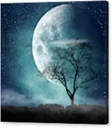 Moon Blues Canvas Print