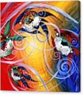 Moon Dance 4 Canvas Print