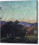 Moonlight Ranch Canvas Print