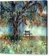 Moonlight Shadows Canvas Print
