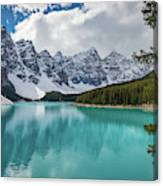 Moraine Lake Range Canvas Print