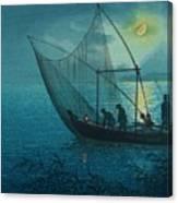 Morigasaki Coast Canvas Print