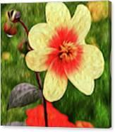 Morning Dew II Canvas Print