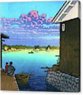 Morning In Yobuko, Hizen - Digital Remastered Edition Canvas Print
