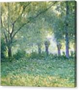 Morning Mist Also Known As Late Spring Canvas Print