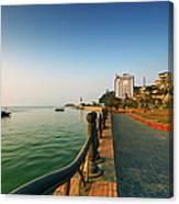 Morning Of Halong Bay Canvas Print