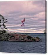 Morning On Georgian Bay Canvas Print