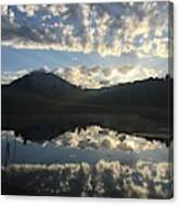 Morning Refection Canvas Print