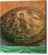 Mosaics Of Mausoleo Canvas Print