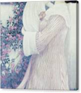 Mother And Child By Wilhelm List Canvas Print