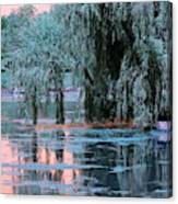 Mother Willow Infrared Canvas Print