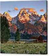 Moulton Barn 2 Canvas Print