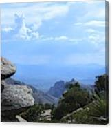 Mount Lemmon View Canvas Print