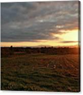 Mount Mansfield September Sunrise Seven Canvas Print