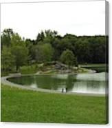 Mount Royale Parc Canvas Print