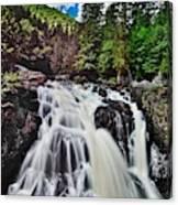 Mount Tremblant Waterfall Canvas Print