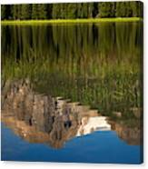Mountain Reflection In Beirstadt Lake Canvas Print