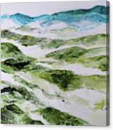 Mountains At Shenandoah 201849 Canvas Print