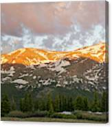 Mt. Lincoln Sunrise Canvas Print